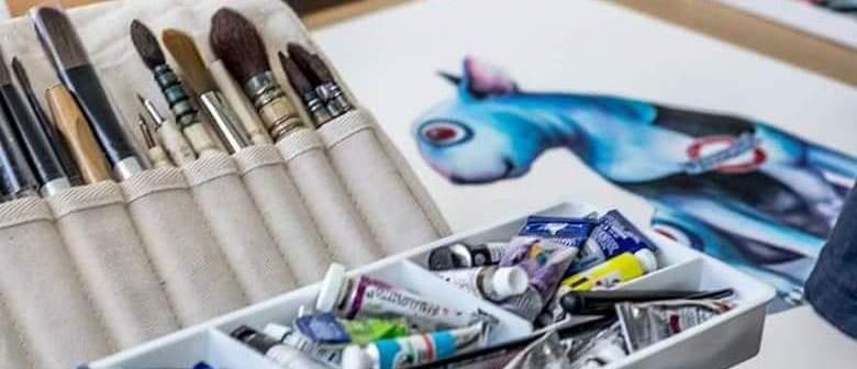 Beginners watercolour with Nick Eggleston
