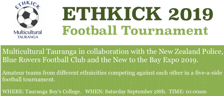 Multicultural Tauranga Ethkick 2019 Football Tournament