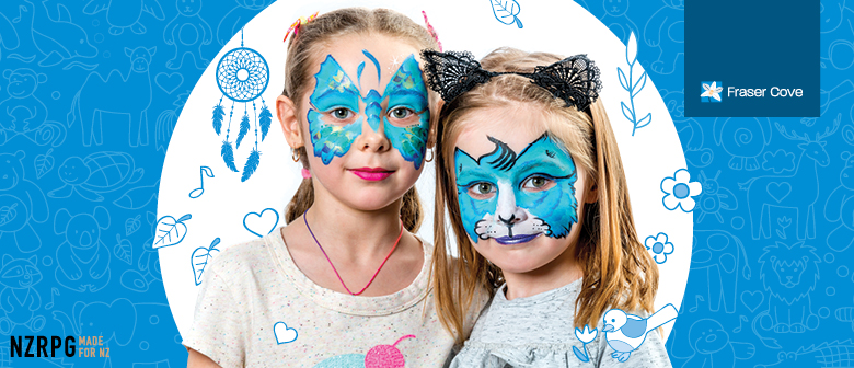 Free Arts, Crafts and Face Painting at Fraser Cove