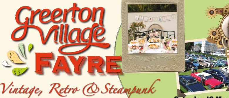 Greerton Village Vintage, Retro and Steampunk Fayre