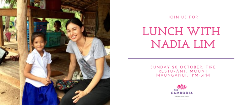 Lunch with Nadia