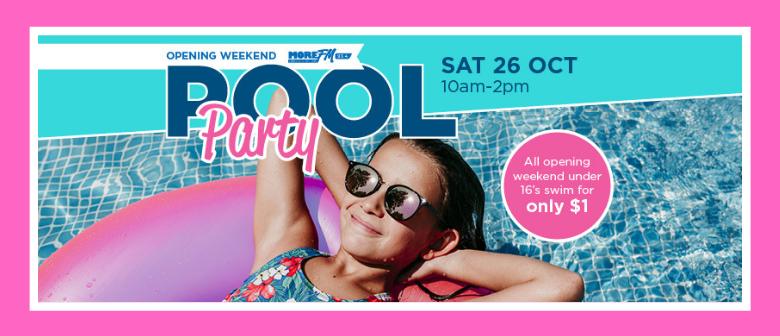 Memorial Pool - Opening Weekend Pool Party