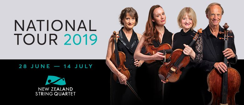 NZ String Quartet - National Tour 2019