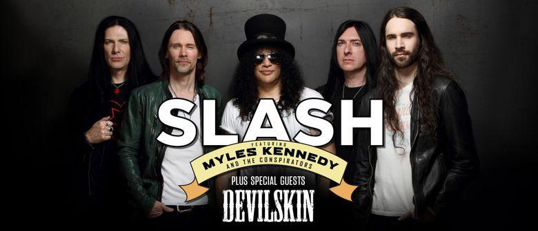 Slash – Living the dream tour