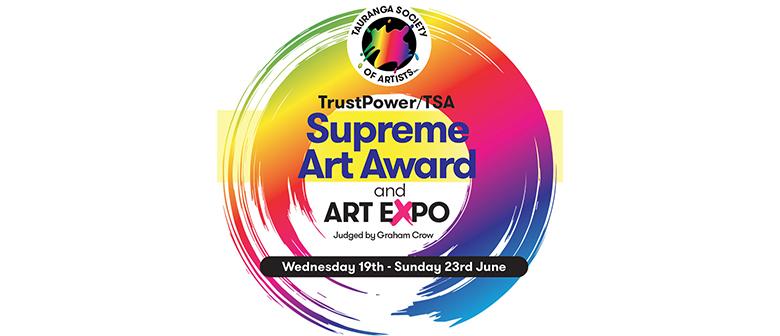 Tauranga Society of Artists Art Expo/Trustpower Supreme Art Award