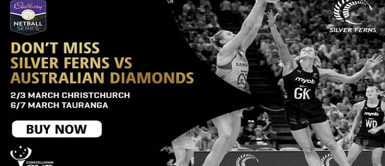 *CANCELLED* Constellation Cup - Silver Ferns vs Australian Diamonds