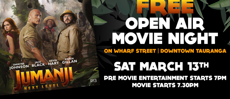 FREE Open Air Movie Night on Wharf Street