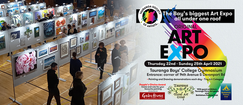 Tauranga Society of Artists Original Art Expo