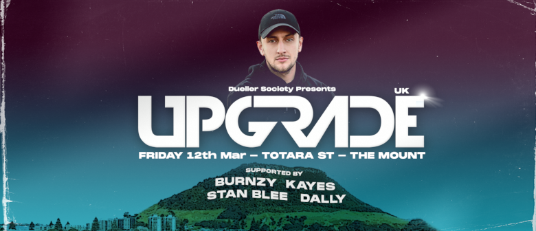 UPGRADE (UK) - Mount Maunganui - Drum and Bass Night