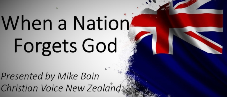 Public Talk: When A Nation Forgets God