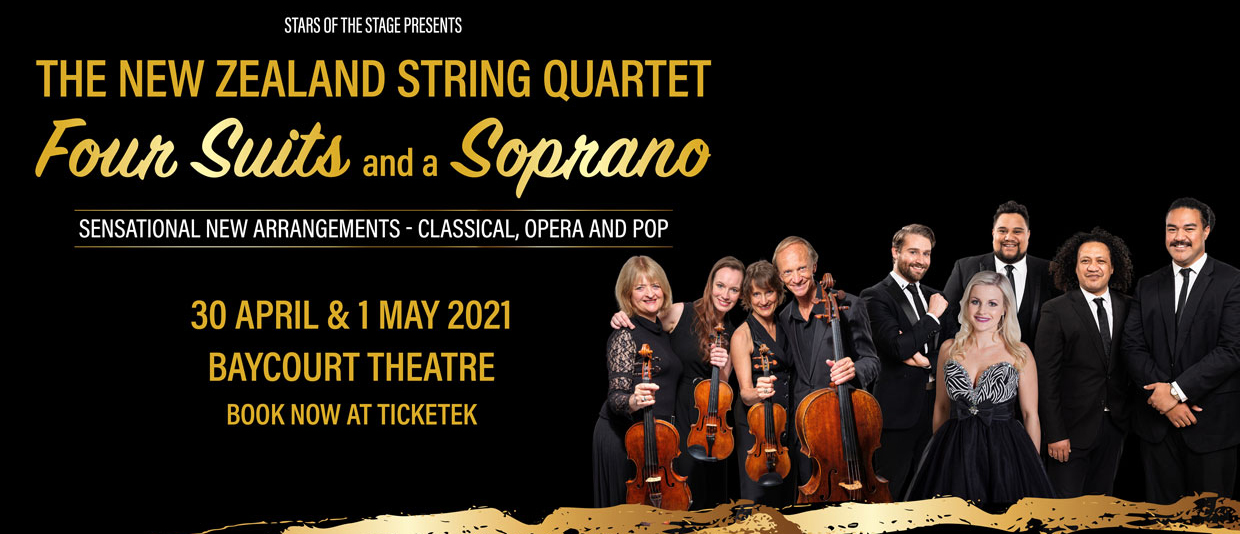 The NZ String Quartet: Four Suits and a Soprano